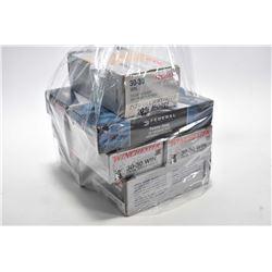 Bag Lot : Four Boxes ( 20 rnds per ) & 3 Boxes ( 24 rnds per ) Federal .30 -3 0 Win Cal Ammo