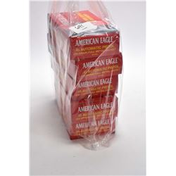 Bag Lot : Five Boxes ( 50 rnds per ) American Eagle .45 Auto Cal Ammo