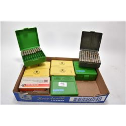 Tray Lot : Approx. 4 & Part Boxes .357 Mag Cal Factory Ammo - Approx. 340 Plus Rnds .38 Spec Reloads