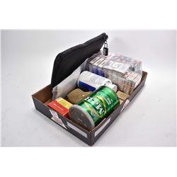 Tray Lot : Approx 17 Boxes ( 5 rnds per ) Various.12 Ga Shot Shells - 4 Boxes .410 Ga Ammo - Two Box