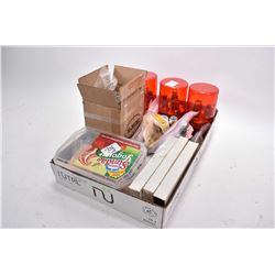 Tray Lot : Four Sets Reloading Dies : .45 Colt - .455 Webley - .44 Mag - .38 Spec - Colt Parts - Box