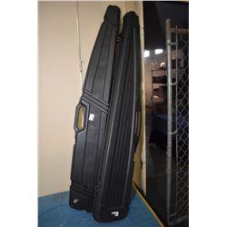 Lot of Two Black Hard Plastic Gun Cases [ Field Locket - Pro ]