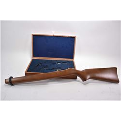 Lot of Two Items - As New Ruger 10 - 22 Wooden Stock ONLY - Presentation Case for Smith & Wesson Mod