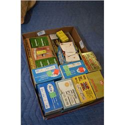Tray Lot : Approx. Seven Boxes .12 Ga Shot Shells - Approx. Ten Plus Boxes .22 Cal Ammo