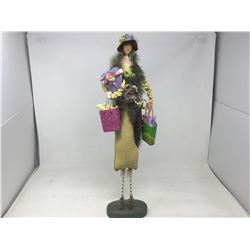 Decorative Lady Figurine