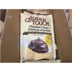 Case of Added Touch Chocolate Cream (12 x 212g)