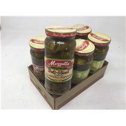 Case of Mezzetta Deli-Slice Jalapeno Peppers (6 x 473 ml)