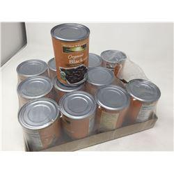 Case of Westbrae Natural Organic Black Beans (12 x 425 g)