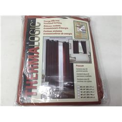 ThermalogicPrescott Curtain Panels (2) 80 in x 63 in
