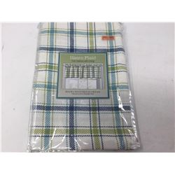 Bistro Plaid Valance with Lining (60 in W x 14 in H)