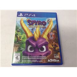 PS4 SpyroReignited Trilogy Game