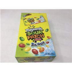 Lot of Maynards Sour Patch Kids Beanz (18 x 60g)