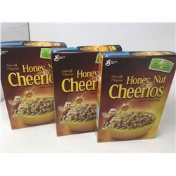 Lot of Honey Nut Cheerios (3 x 292g)