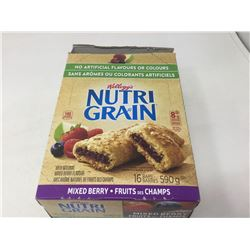 Lot of Kellogg's Nutri Grain Bars (16 x 36 g)