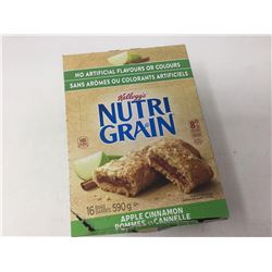 Lot of Kellogg's Nutri Grain Apple Cinnamon Bar (16 x 36g)