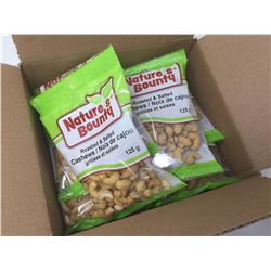 Case of Nature's Bounty Roasted & Salted Cashews