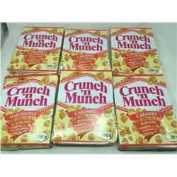 Lot of Crunch 'N Munch Caramel Popcorn (6 x 200g)