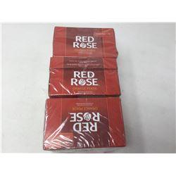 Lot of Red Rose Orange Pekoe Tea
