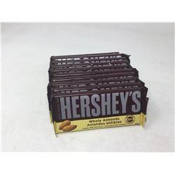 Lot of Hershey's Whole Almonds Chocolate Bars (11 x 100g)
