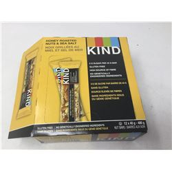 Case of Kind Bars- Honey Roasted Nuts & Sea Salt (12 x 40g)