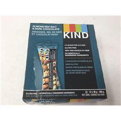 Case of Kind Bars- Almond Sea Salt & Dark Chocolate (12 x 40g)