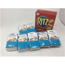 Lot of Oceans Snack Kit Tuna and Ritz Crackers