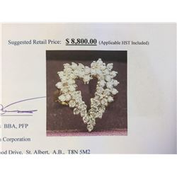 Natural Diamond (1.68ct) Ring - Suggested Retail Price $8,800.00