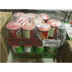 Case of Pringles Original and Sour Cream & Onion Lot of 2