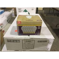 Globe Incandescent 50W Bulbs 6-Pack (9ct)