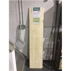 """Hobbyboard Spruce Edge-Glued Panel (11/16"""" x 16"""" x 72"""")"""