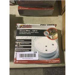 Kiddie Pro Series Direct Wire Smoke Alarm w/ Battery Backup