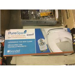 PureSpa Dual Temperature Bidet