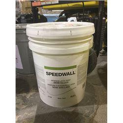 Speed Wall Interior Latex Paint Semi-Gloss White 18.5L