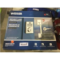 WeiserSmart Key Security Smart Code Touchpad Electronic Deadbolt