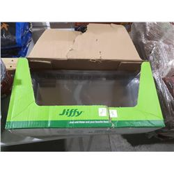 Case of Jiffy Dome Display Cartons