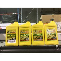 Race Pro SAE 5W20 Premium Motor Oil (4 x 946mL)
