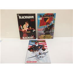 DC Blackhawk Book 1, 2, & 3