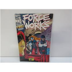 Force Works #1 July First Issue