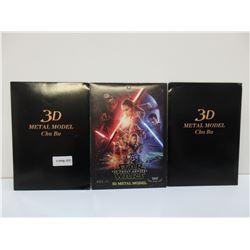 3 - 3D Metal Models