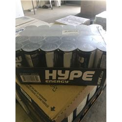 Case of Hype Energy Sugar Free Energy Drink (24 x 250ml)