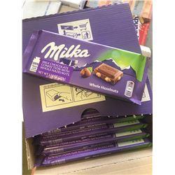 Case of Milka Chocolate Bars with Whole Hazelnuts (17 x 100g)