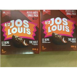 Lot of 1/2 Jos louis(2 x 6)