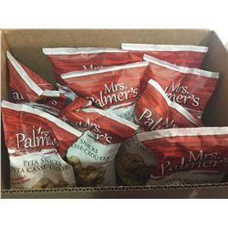 Case of Mrs Palmers Parmesan & Garlic Pita Snacks