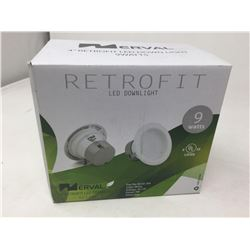 Retrofit LED Dimmable Downlight (9w)