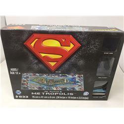 Superman 4D Metropolis Puzzle