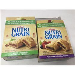 Lot of Kellogg's Nutri Grain Bars