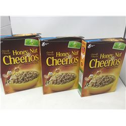 Lot of General Mill's Honey Nut Cheerios (3 x 292g)