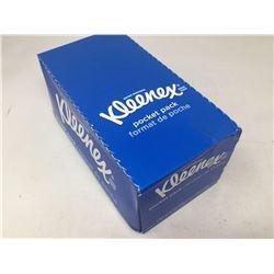 Case of Kleenex Pocket Pack (16 packs)