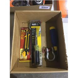 Box of Misc. Hand Tools