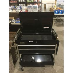 "Williams 45"" 2-Drawer Mechanics Cart, Black"